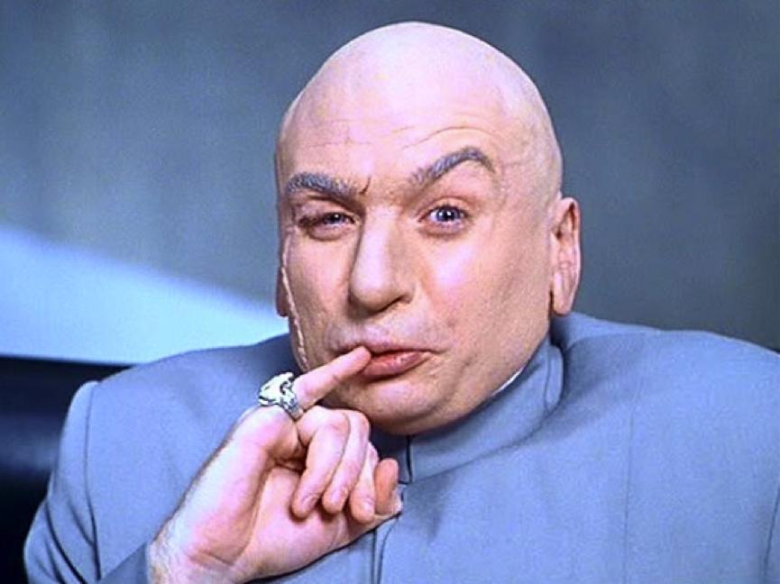 - I want one million dollars! I mean, one hundred billion dollars!